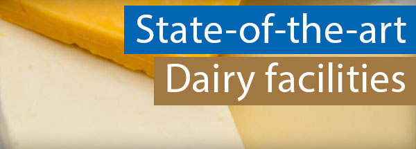 Stat-of-the-art dairy facilities
